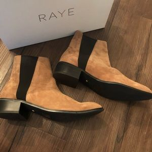 Raye the Label NIB Tan Booties